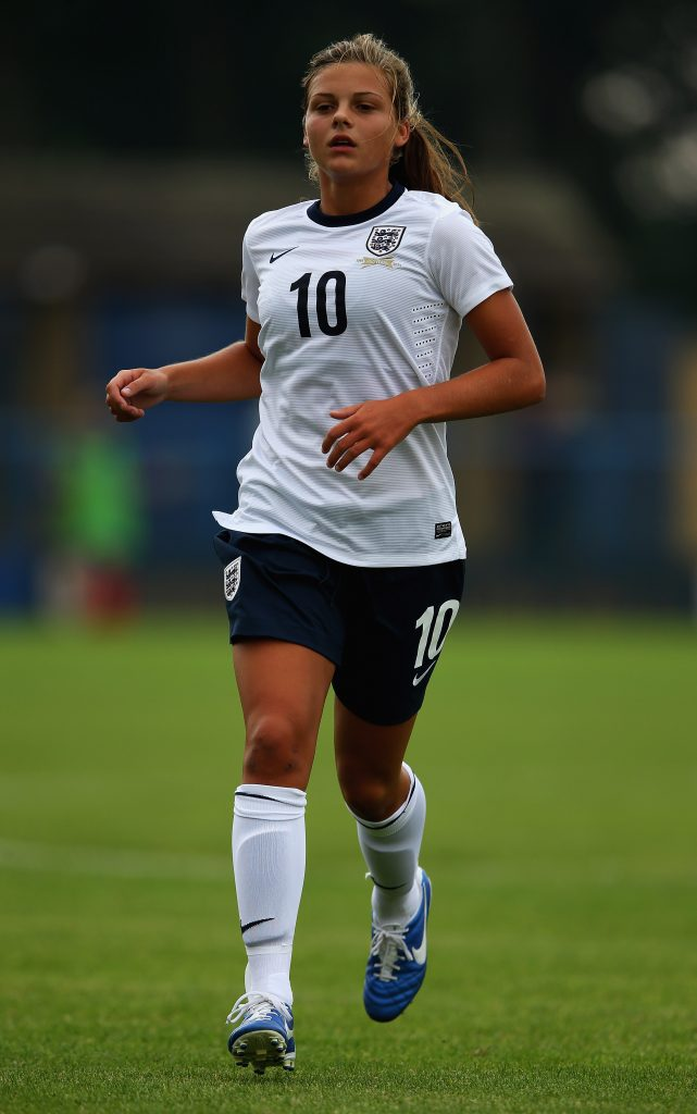 Sarah Mayling, England U17, Photo by The FA