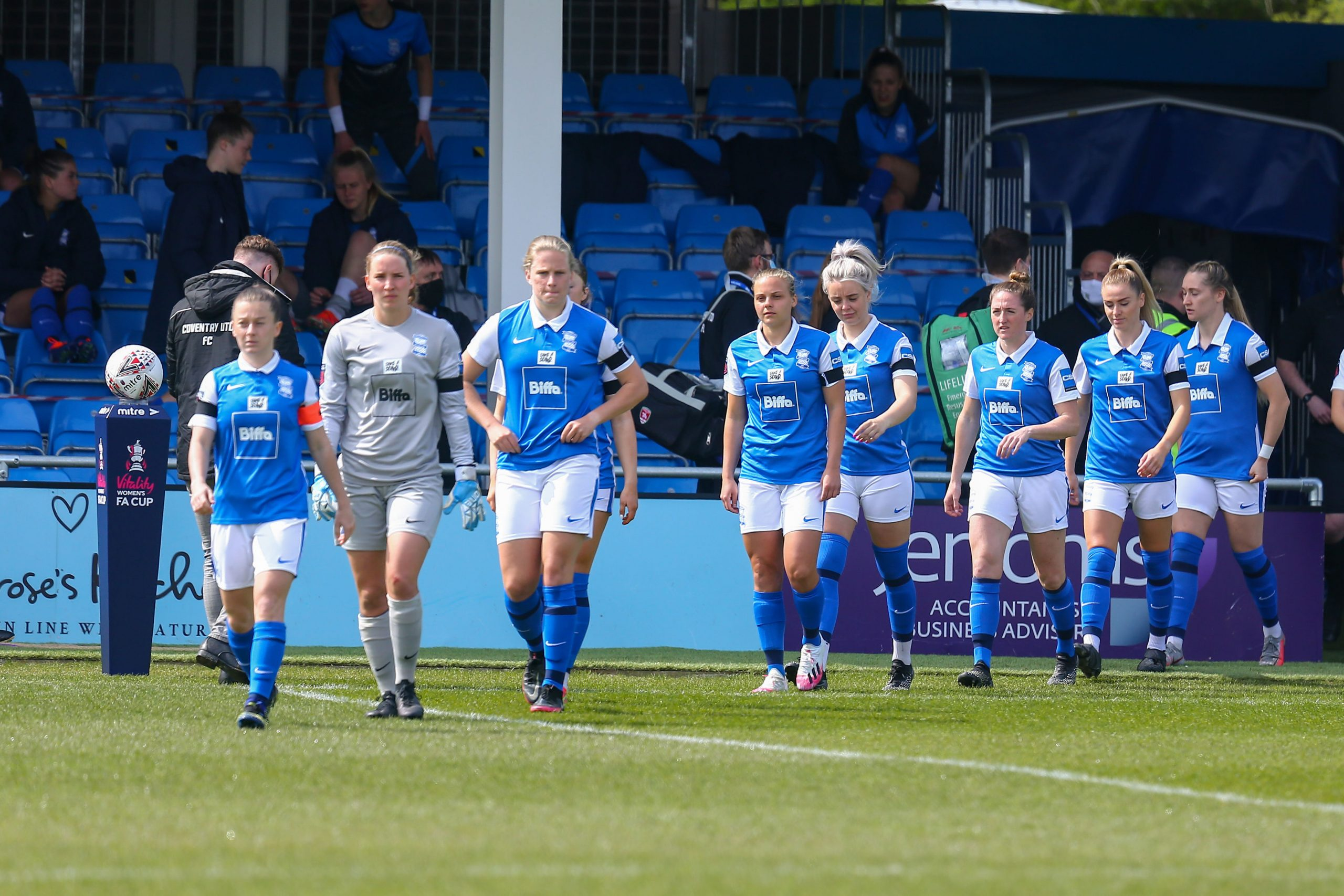 Birmingham City Women prepare for Coventry